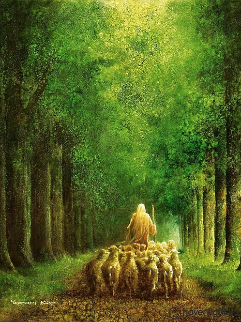 Chúa Giêsu Và Đàn Chiên Trong Rừng