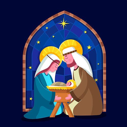 Chúa Giêsu Giáng Sinh Trong Trang Phục Truyền Thống
