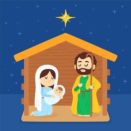 Ngôi Hai Giáng Sinh Trong Hang Lừa