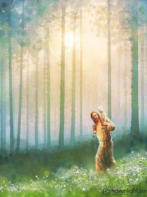 Chúa Giêsu Vác Chiên Trên Vai