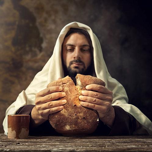 Chúa Giêsu Bẻ Bánh Không Men