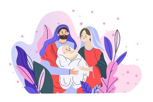 Chúa Giêsu Giáng Sinh Giữa CâyCỏ
