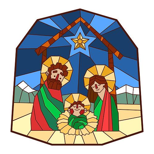 Tranh Kính  Chúa Giáng Sinh