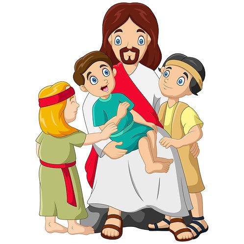 Chúa Giêsu Ôm Trẻ EM