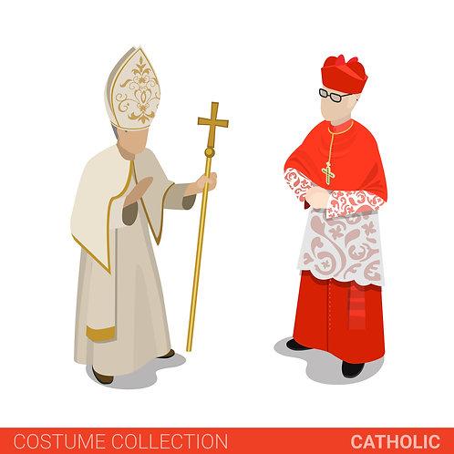 Đức Giáo Hoàng - Đức Hồng Y
