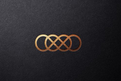 Mockup Logo Mạ Vàng Sang Chảnh