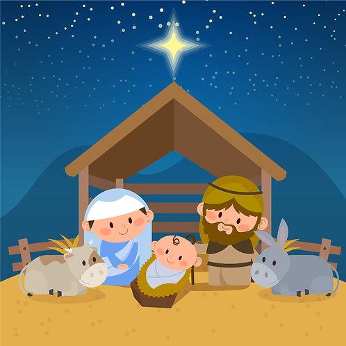 Chúa Giêsu Giáng Sinh Dễ  Thương