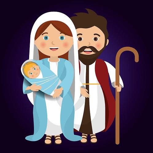Tranh Chúa Giêsu Giáng  Sinh Cartoon