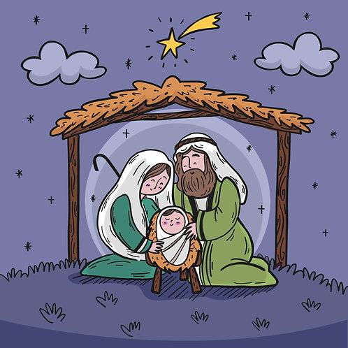 Chúa Giêsu Giáng Sinh  Trong Đêm