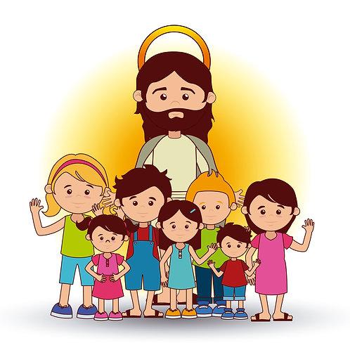 Chúa Giêsu Và Nhóm Trẻ Em