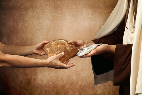 Chúa Giêsu Trao Bánh Và Cá