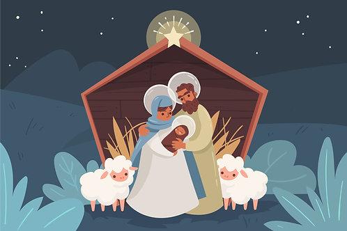 Chúa Giêsu Giáng Sinh Trong Hang Cừu