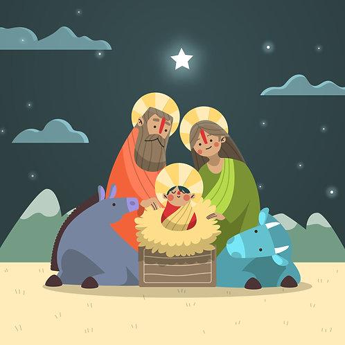 Chúa Giêsu Sinh Ra Trong Hang Bò Lừa