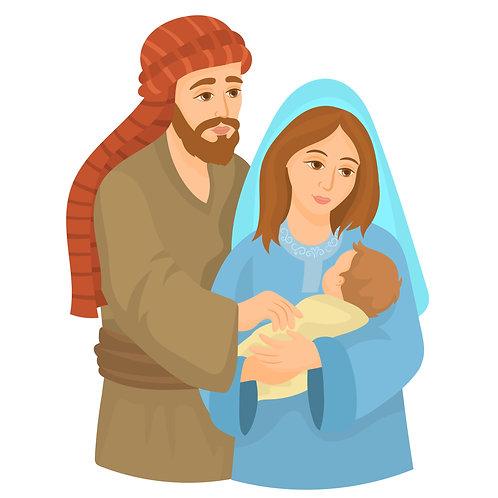 Đức Mẹ, Ông Thánh Giuse Và Chúa Giêsu