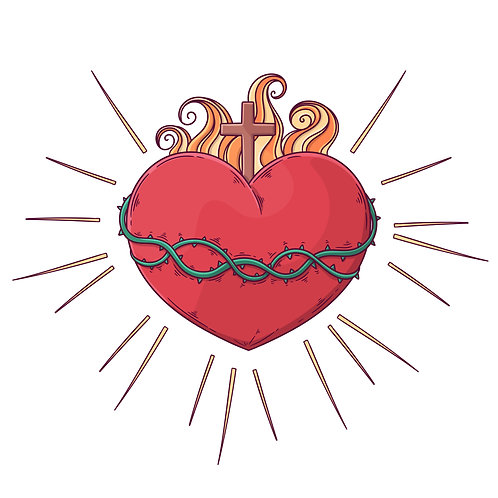 Thánh Tâm Chúa Giêsu Nguồn Êm Ái Dịu Dàng . . .