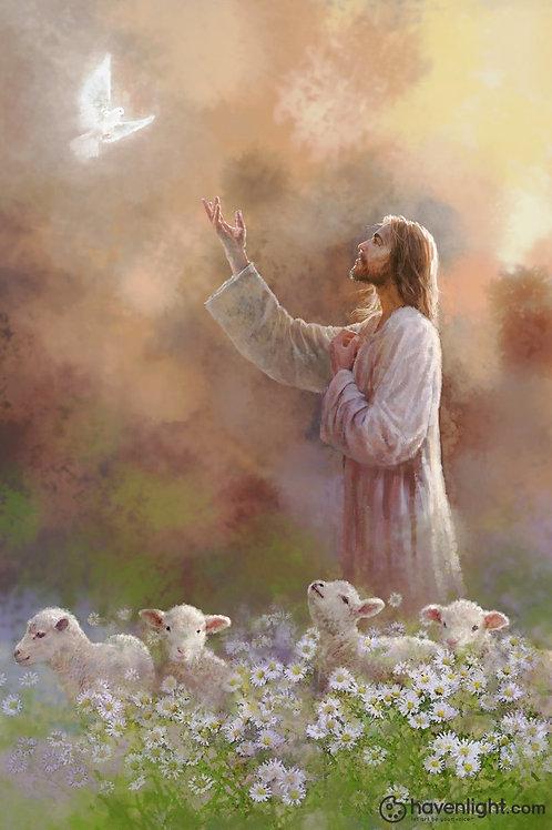 Chúa Giêsu, Chúa Thánh Thần Và Đàn Chiên