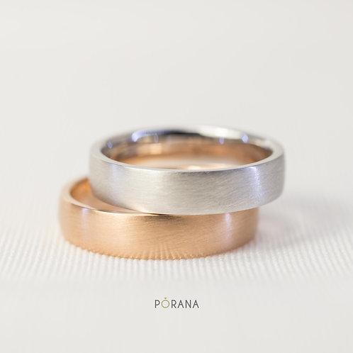 Classic Wedding ring for men in 14K/18K/Platinum