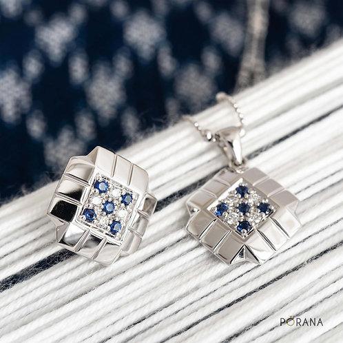 PA SINH | Blue Sapphire & Diamond Pendant