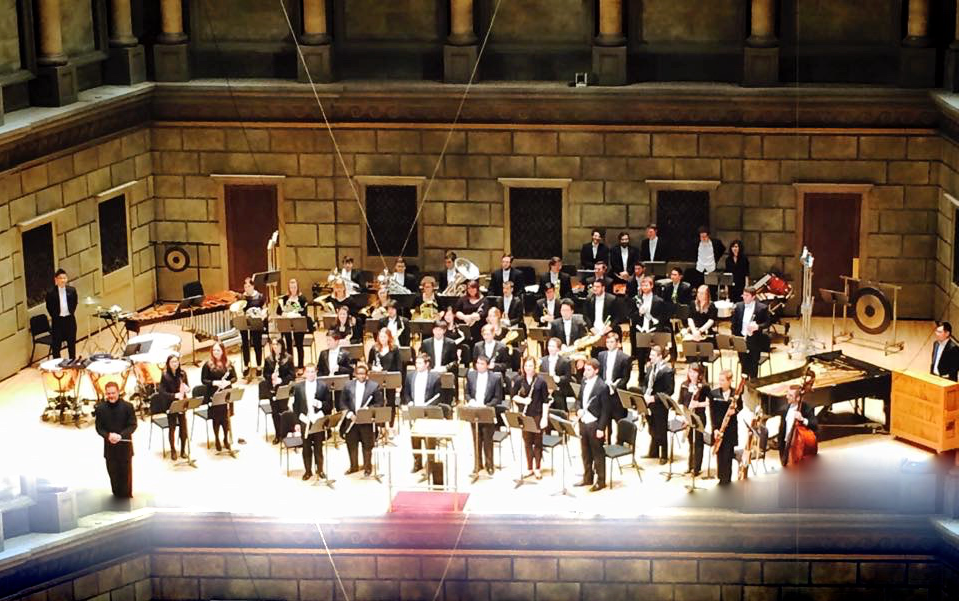Eastman Wind Ensemble Performance