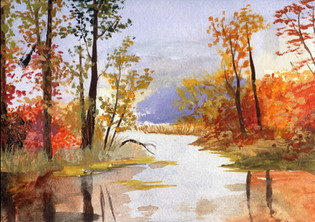 Fall Artwork French Songs of the Season