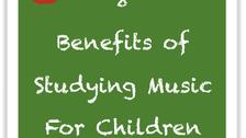 8 Benefits of Music for Children