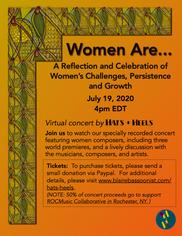 Hats+Heels -  WOMEN ARE... Poster