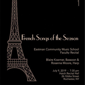 French Songs of the Season Poster