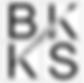 Blaire K.S. Koerner logo, black on white