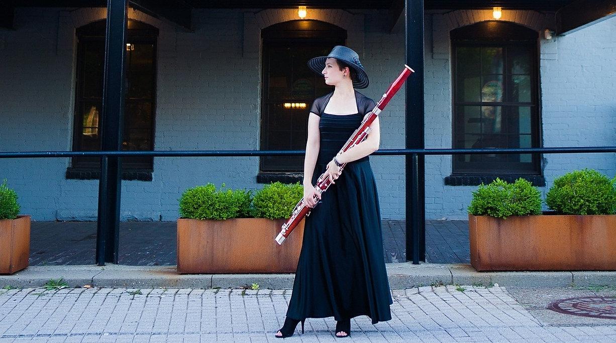 Hats-Heels - Blaire Bassoonist