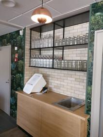 Metal shelves 4