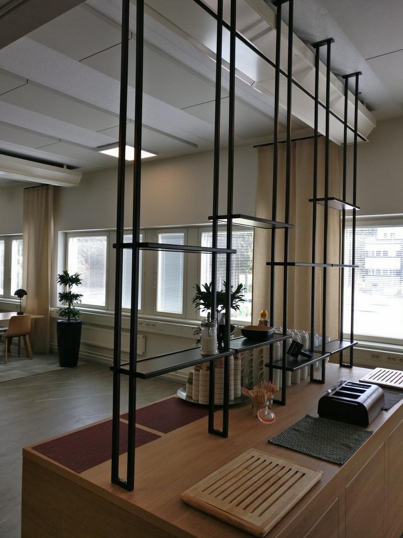 Metal shelves 1
