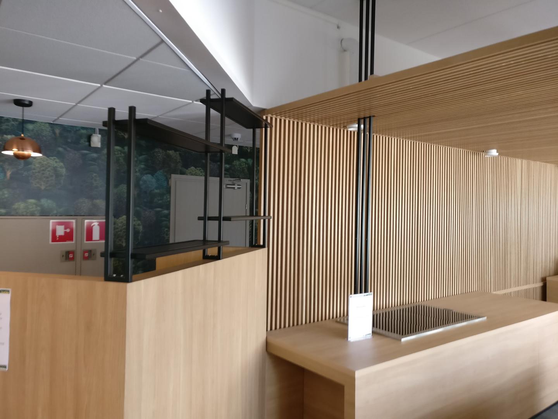 Metal shelves 3