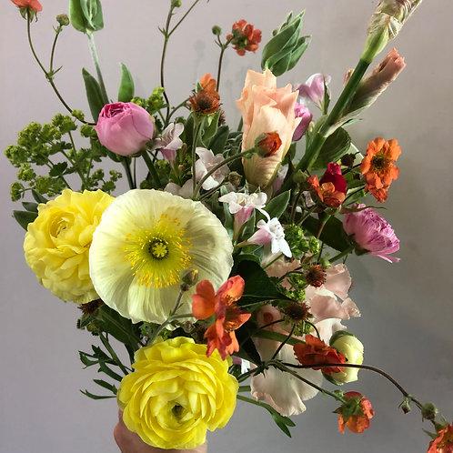 Spring Flower CSA Share • 8 weeks