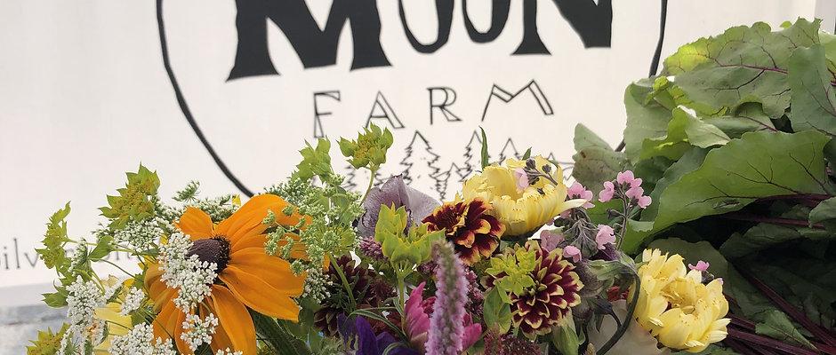 Fall • Full Moon CSA Share • Food & Flowers • 8 weeks
