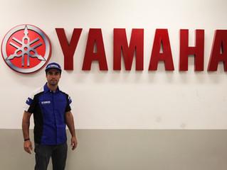 Rafael Paschoalin na corrida das nuvens a bordo da Yamaha MT-07