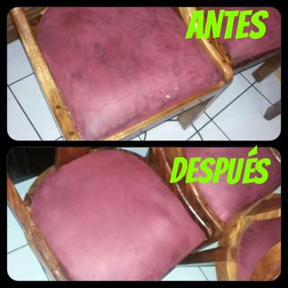 limpieza de sillas de comedor promolavado.com
