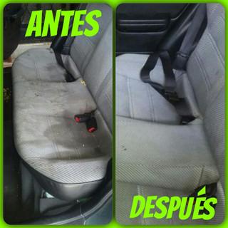 Limpieza ta´piceria de auto promolavado.com
