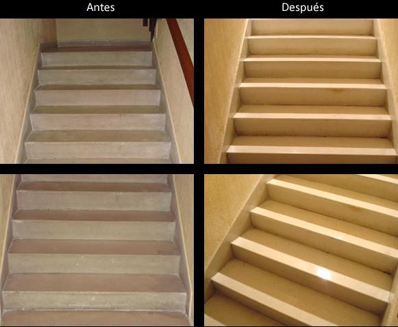 Pulido de escaleras- www.promolavado
