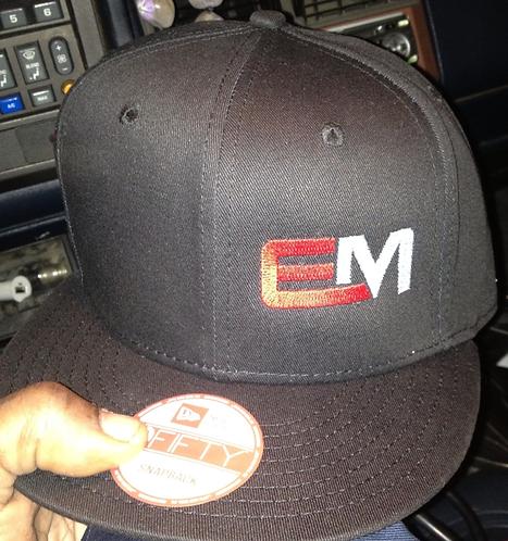 Black EM Hat