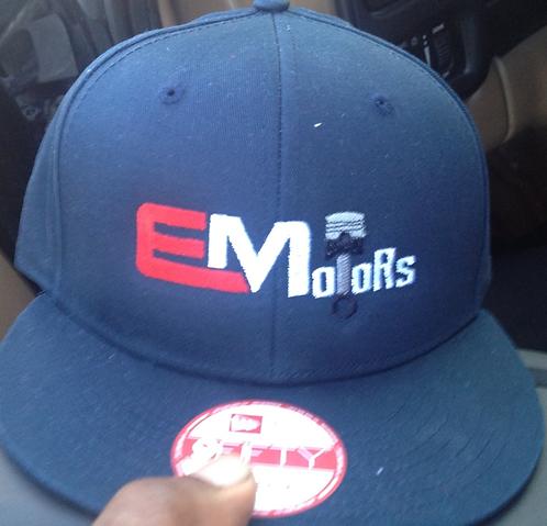 Navy Blue EMotors Hat