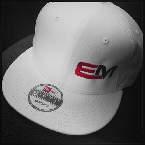 White EM Hat