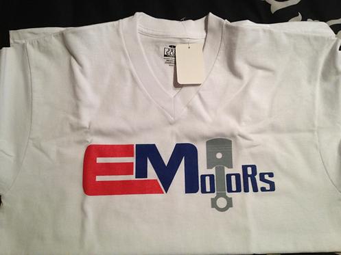 White EMotors T-Shirt