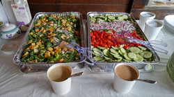 Caesar and House Salad
