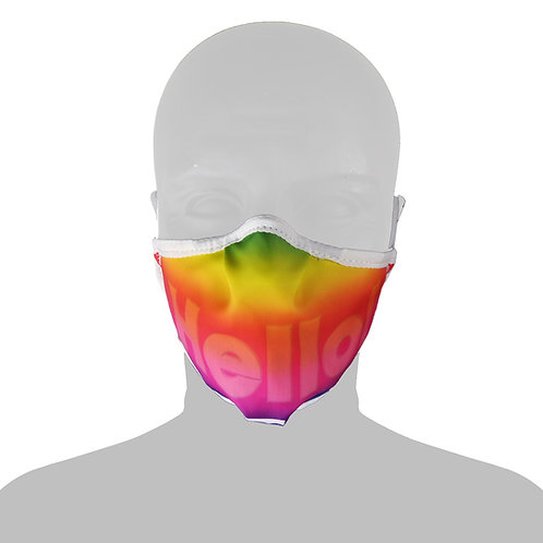 10 Mascherine Rainbow