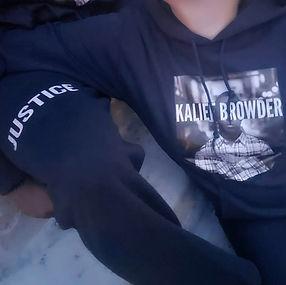 KBF Sweatpants Justice leg and sweatshir