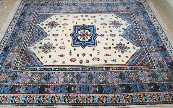Vibrant Coloured Authentic Persian Rug