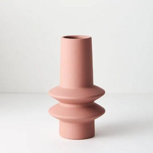 Lucena Vase 21.8cmx12.5cm - Pink