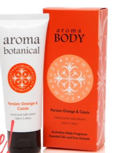 Aromabotanical Hand Cream 100ml - Persian Orange & Cassis