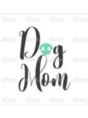 Thirsty Stone Coaster - Dog Mom
