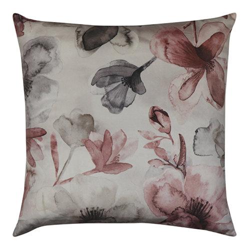 Euroa Pink Velvet Cushion